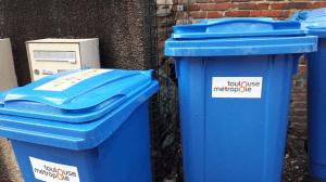 bac de tri sélectif Toulouse Métropole