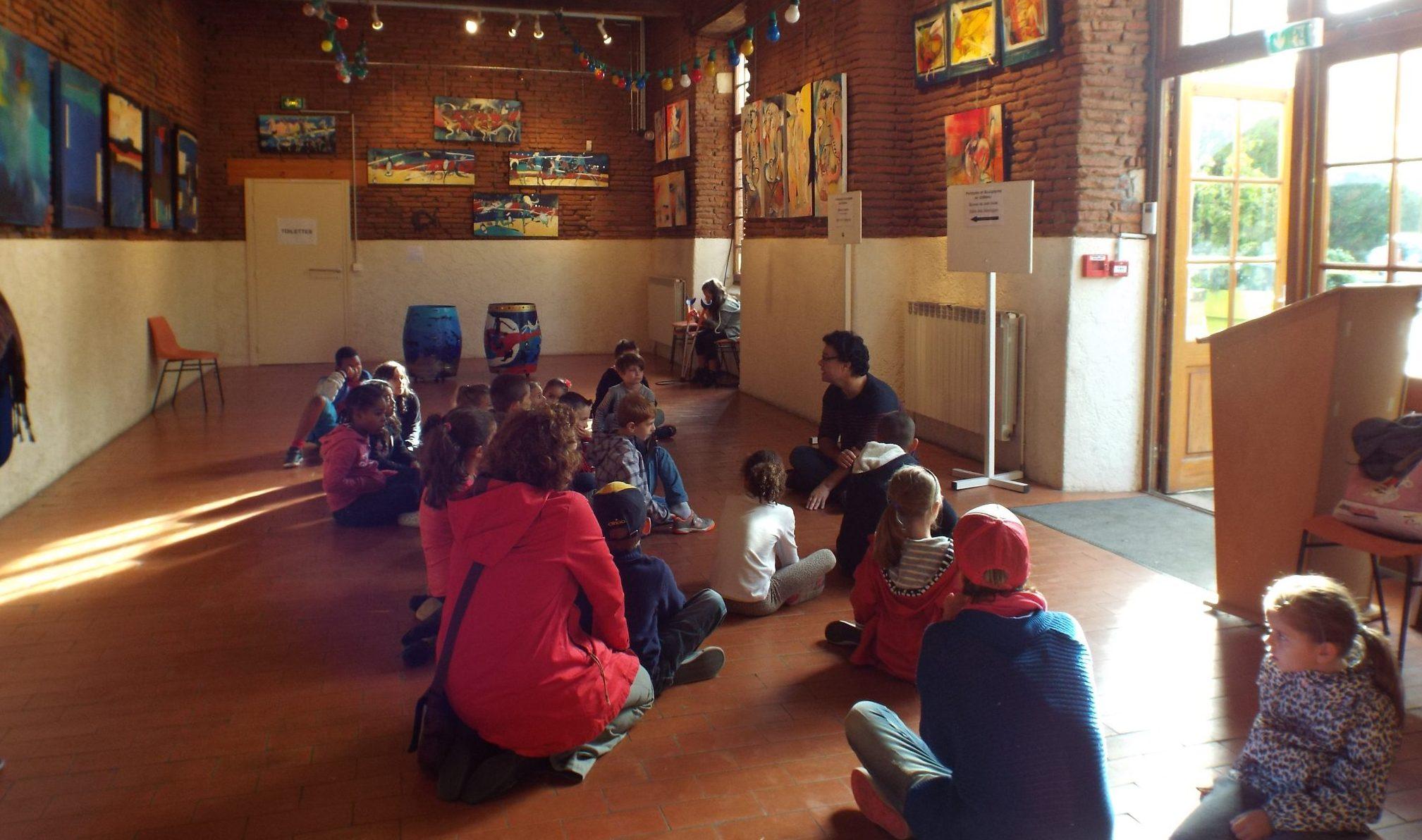 Peintures et sculptures à Launaguet