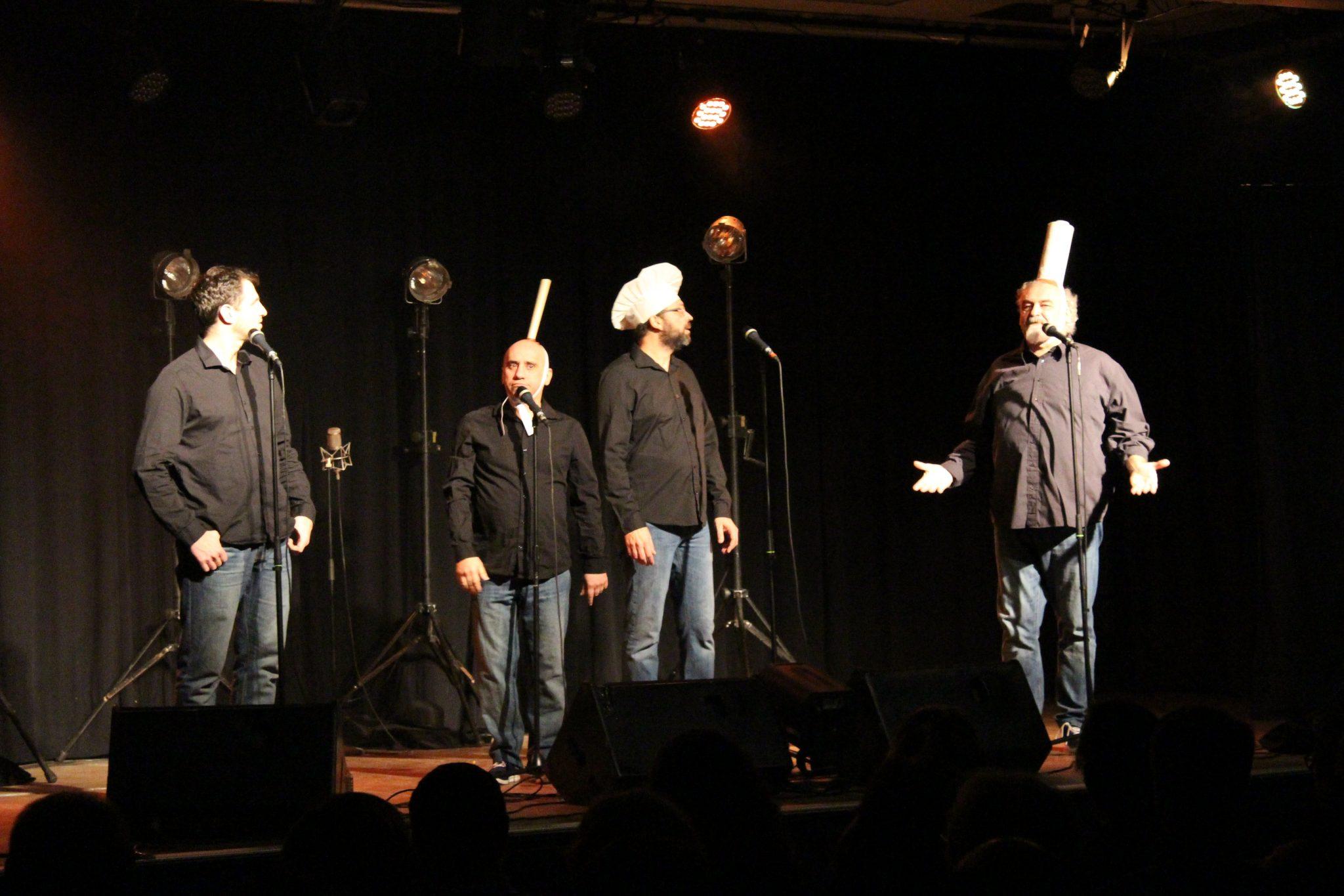 Les Frères Brothers dans le cadre du Festival Détours de Chants à Launaguet