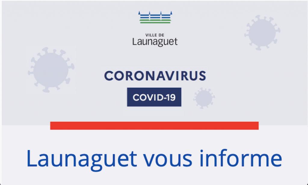 Coronavirus Launaguet vous informe