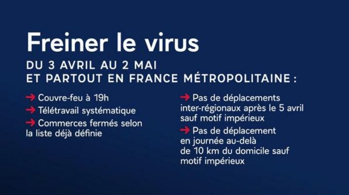 mesures générales pour freiner le virus