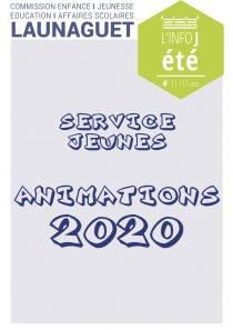 SERVICE JEUNES ÉTÉ 2020