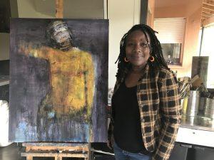 Olga Yaméogo portrait